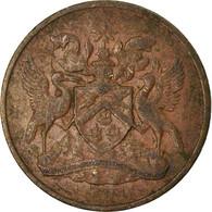 Monnaie, TRINIDAD & TOBAGO, Cent, 1968, Franklin Mint, TTB, Bronze, KM:1 - Trinité & Tobago
