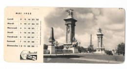 Photo Buvard Paris - Cliché Cap - Mai 1955 - Chemist's