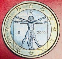 ITALIA - 2019 - Moneta - Proporzioni Ideali Del Corpo Umano, Disegno Di Leonardo Da Vinci - Euro 1.00 - Italie