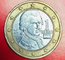 AUSTRIA - 2016 - Moneta - Ritratto Di Wolfgang Amadeus Mozart - Euro - 1.00 - Autriche