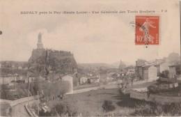H19- 43) Espaly Près Le Puy (Haute Loire) Vue Générale Des Trois Rochers - Andere Gemeenten