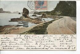REF1474/ Brazil PC Rio Icarahy Ship C Bordeaux à Buenos Ayres N°4 19/9/1905 > France - Cartas