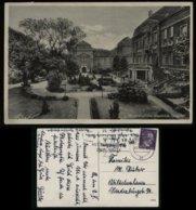 WW II DR Militär Arzt Akademie Postkarte : Gebraucht  Mit Werbestempel Eisernes Kreuz , Mit Dem Führer Zum Sieg , Berl - Germany
