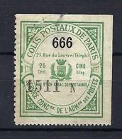 France - Colis Postaux - Surcharge 666 - Thématique : Diable - Mint/Hinged