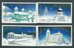 Moldavia - Correo Yvert 360/3 ** Mnh Navidad - Moldawien (Moldau)