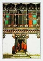 Bhoutan  Thimbu  Temple De Tashichko Dzong    Années   80s - Bhutan