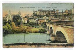 CPA 41 SAINT-AIGNAN-SUR-CHER VUE GENERALE ET LE CHATEAU - Saint Aignan