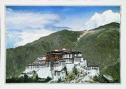 Tibet  Le Potala Lhassa    Années   80s - Tibet