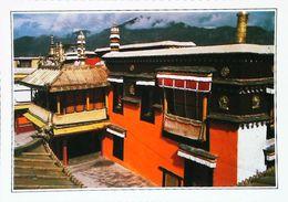 Tibet  Lhassa  Monastère De Jokhang   Années   80s - Tibet