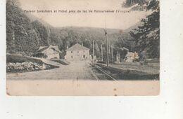 CPA  MAISON FORESTIERE ETHOTEL PRES DU LAC DE RETOURNEMER - France