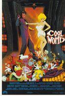 AFFICHE DE CINEMA Sur Carte Postale: COOL WORLD - Manifesti Su Carta