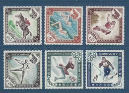 Monaco - YT N° 532 à 537 - Neuf Sans Charnière - 1960 - Monaco