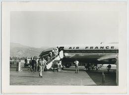 (Aviation) Aéroport De Beyrouth (Liban). 1er Service Caravelle. 25 Août 1959. - Aviación