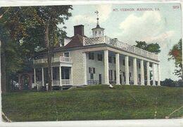 07 - 2020 - USA - ETATS UNIS - VIRGINIE - Mt Vernon Mansion - Pliure - Etats-Unis