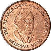 Monnaie, Jamaica, Elizabeth II, 25 Cents, 1996, British Royal Mint, TTB, Copper - Jamaica