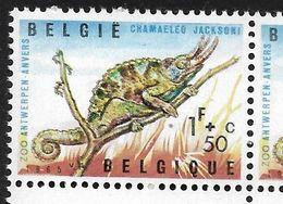1344-V1 En Paire - Coin De Feuille P4 T29 Tache De Couleur Sous La Patte (Alb. Noir N° 42) - Varietà E Curiosità