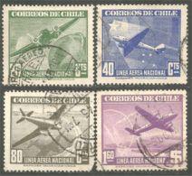 252 Chili Avions Airplanes Flugzeug Aereo Aero (CHL-81) - Vliegtuigen