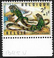 1345-V En Paire T27 Dernier E De Belgique Cassé (Alb. Noir N° 45) - Varietà E Curiosità