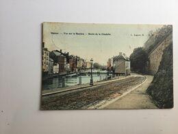 NAMUR VUE SUR LA SAMBRE - ROUTE DE LA CITADELLE   CPA RARE - Namur
