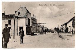 Hannonville An Der Cotes Lorraine, Alte Ansichtskarte, Feldpost Grenadier Regiment Graf Kleist, 1915 - Autres Communes
