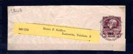 Österreich  Vorausentwertungen 1913  Vorausentwertung  Streifband - 1918-1945 1a Repubblica