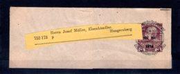 Österreich  Vorausentwertungen 1914  Vorausentwertung  Streifband - 1918-1945 1a Repubblica