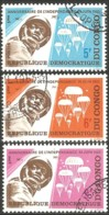 273 Congo Parachute Parachutiste Parachutisme ** (CGZ-17) - Parachutting