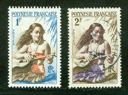 French Polynesia; Scott # 184 + 185; Usagés (3339) - Polinesia Francese
