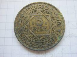 Morocco , 5 Francs 1365 (1946) - Maroc