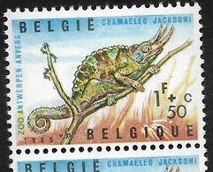 1344-V3 En Paire Verticale P2 T26 Tache Jaune Sous Le 5 (Alb. Noir N° 44) - Varietà E Curiosità