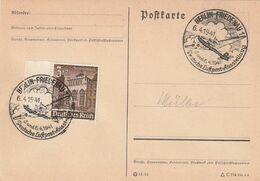 """Deutsches Reich / 1941 / SSt. Berlin-Friedenau """"Luftpost-Ausstellung"""" Auf Postkarte (CD64) - Machine Stamps (ATM)"""