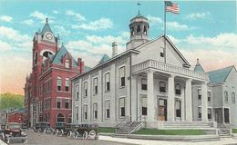 07 - 2020 - USA - ETATS UNIS - VIRGINIE - WELLSBURG - Court House And City Hall - Etats-Unis