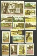 RUSSIA 1963 Matchbox Labels - Museum Of L.Tolstoy, Yasnaya Polyana (catalog # 114) - Matchbox Labels
