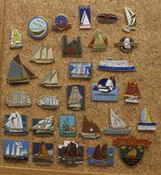 Lot 30 Pin's Bateaux - Lots