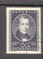 Österreich 964 Josef Lanner Used Gestempelt - 1945-.... 2. Republik