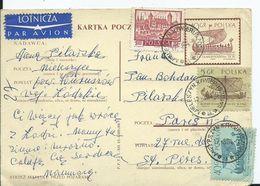 POLOGNE - Entiers Postal Avec Complément D' Affranchissement - Entiers Postaux