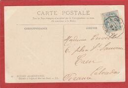 Algérie - Convoyeur De Ligne TLEMCEN A ORAN Type 2 - 1906 - - Briefe U. Dokumente