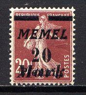 MEMEL  - 80** - TYPE SEMEUSE - Nuevos