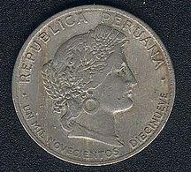 Peru, 20 Centavos 1919 - Pérou