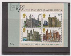 GB>>LONDON 1980>3 MINIATURE SHEETS - Blocchi & Foglietti