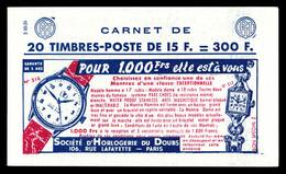 N°1011-C22, Série 10-56, HORLOGERIE DU DOUB Et EU. TB  Qualité: ** - Definitives