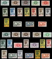 Série Des Palmiers Complète, Poste, Taxe, 143 Exemplaires SUP. R.R. (certificat)  Qualité: *  Cote: 3213 Euros - 1906-08 Palmiers – Faidherbe – Ballay