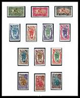 COTE DES SOMALIS: 1894-1966, Bon Début De Collection Presenté En Album MOC. TB  Qualité: **  Cote: 3609 Euros - France (ex-colonies & Protectorats)