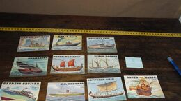 10 OLD CARDS  __ ( Lot : Ismo 13 ) - Schiffe