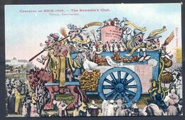 CP ANCIENNE REF230720...CARNAVAL NICE 1909, Char The Rementa's Club Par Tiranty, Editions Giletta - Carnaval
