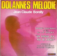 "Disque 45 Tours Jean-claude Borelly 1975 CBS SG 640014 Bande Originale Film ""un Linceul N'a Pas De Poches"" - Instrumental"