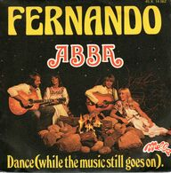 Disque 45 Tours ABBA 1976 Melba 45X14062 - Pop Disco - 2 Titres : Fernando / Dance - Instrumental