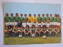 Sports > Football équipe Mexique  World Cup 1978 - Fussball