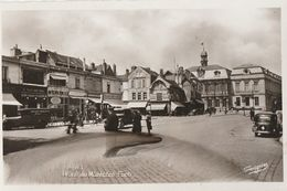 TROYES -  PLACE DU MARECHAL FOCH - BELLE CARTE PHOTO ANNEES 50/60 - - Troyes