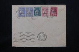 PORTUGAL - Affranchissement Des Açores Sur Enveloppe Pour Paris En 1939 - L 65296 - Azores